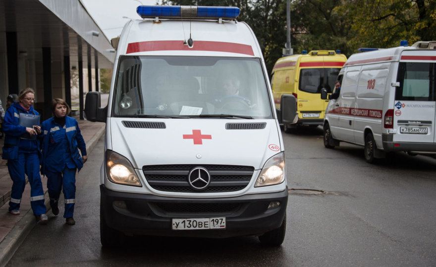Rusijos medikų automobilis