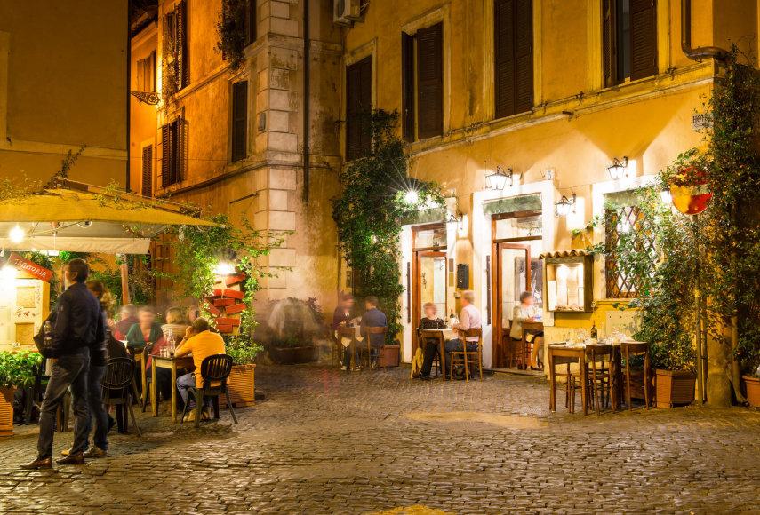 Restoranėlis Romos centre