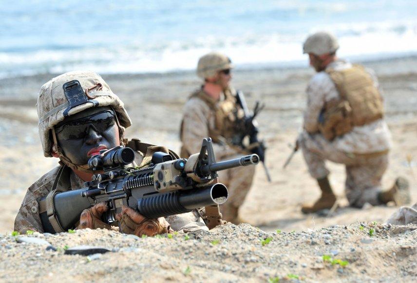 JAV ir Pietų Korėjos karinės pratybos