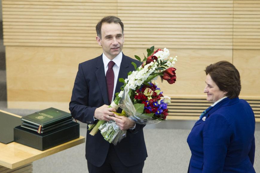 Rokas Masiulis ir Loreta Graužinienė