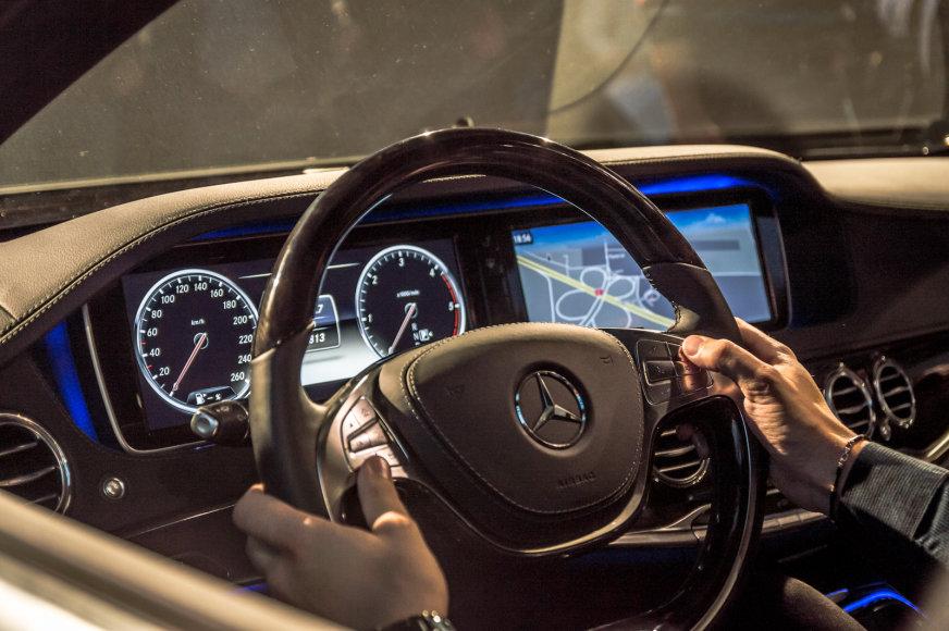 """Mercedes-Benz"" S klasės pristatymas Lietuvoje"