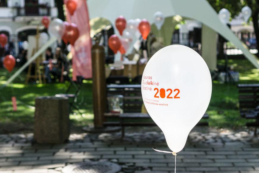 Kauno Europos kultūros sostinės 2022 komandos organizuotas gyvas susitikimas