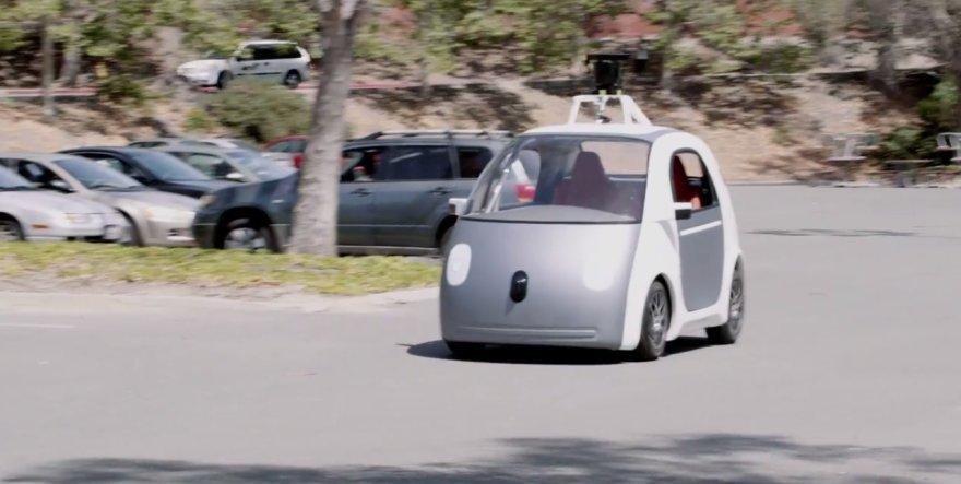 """""""Google"""" autonominis automobilis"""
