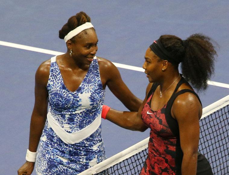 Venus Williams ir Serena Williams
