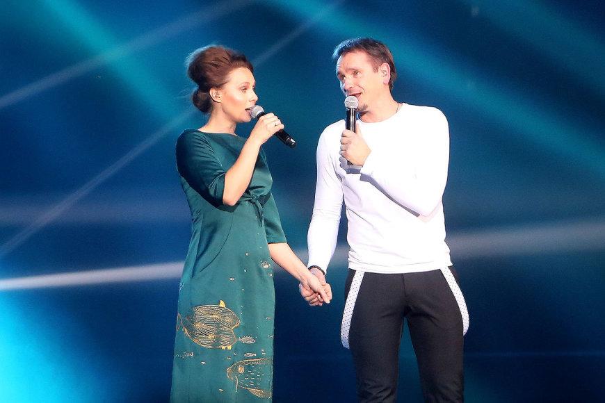 Marijonas Mikutavičius ir Aistė Smilgevičiūtė