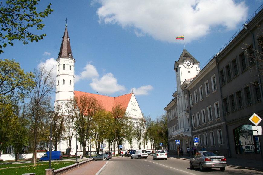 Šiaulių katedra ir savivaldybė