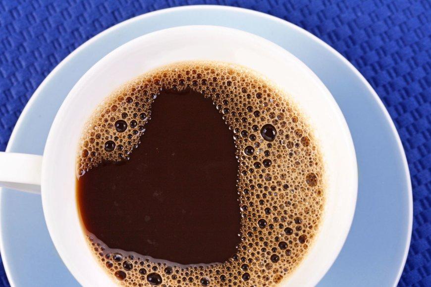 Vida Press nuotr./Kavos puodelis