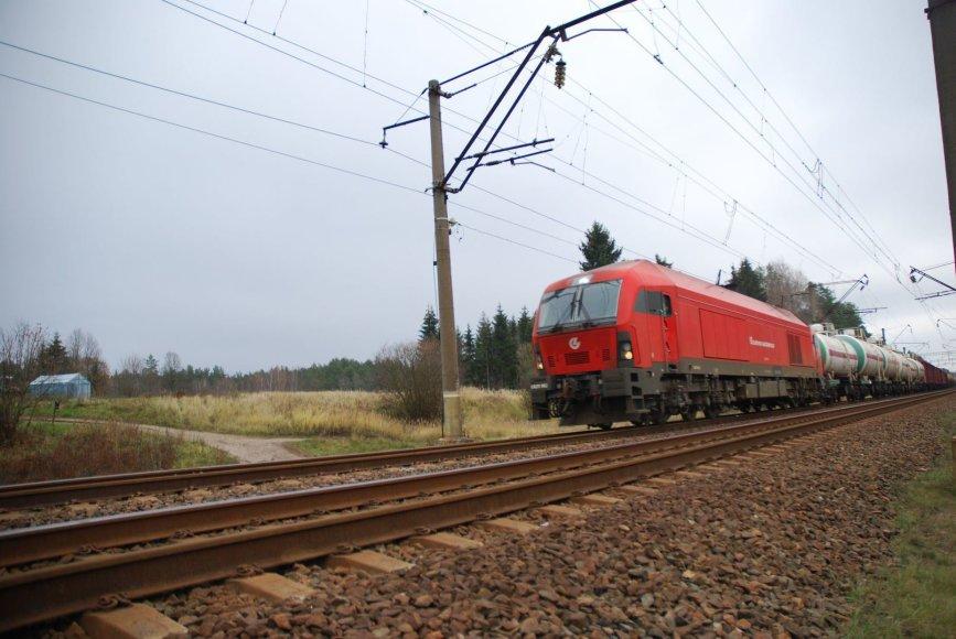 Geležinkelis, traukinys