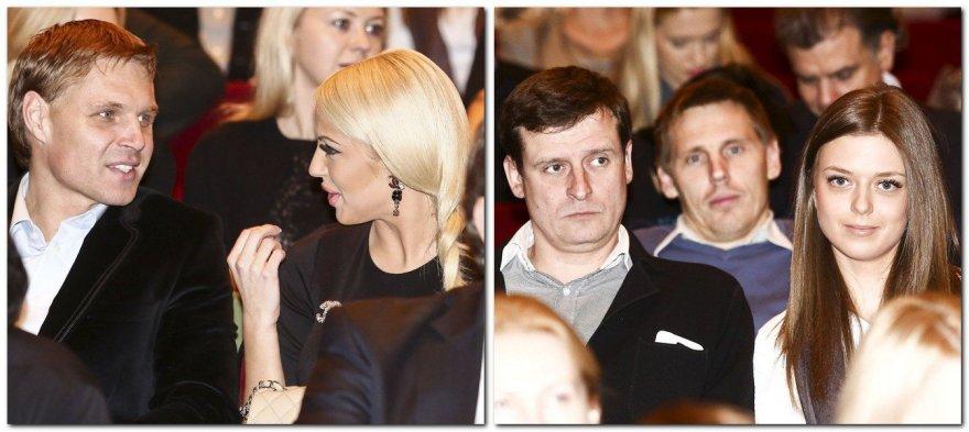 Edgaras Jankauskas bei Danielius Bunkus su širdies draugėmis