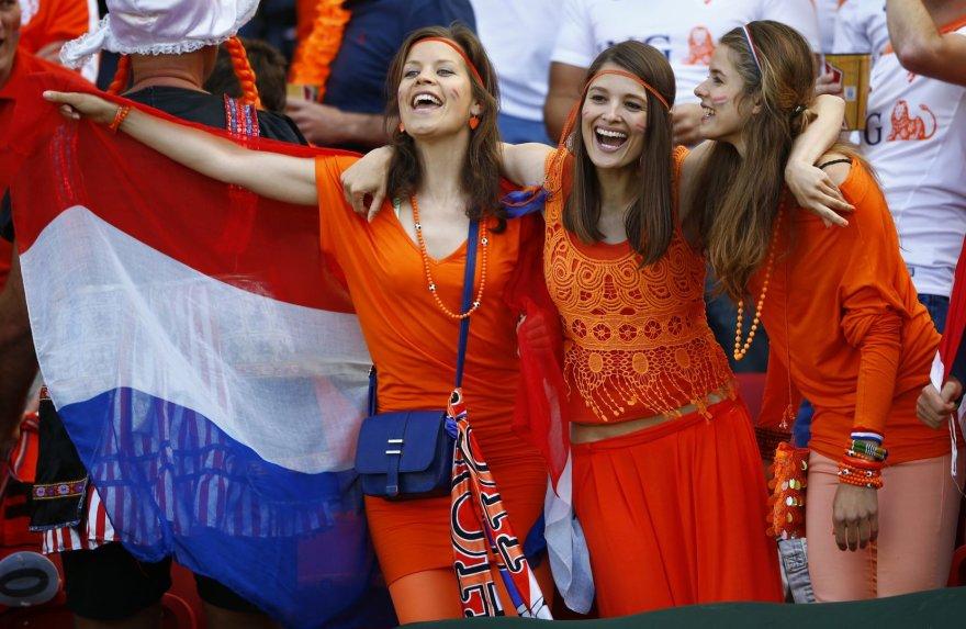 Nyderlandų futbolo sirgalės