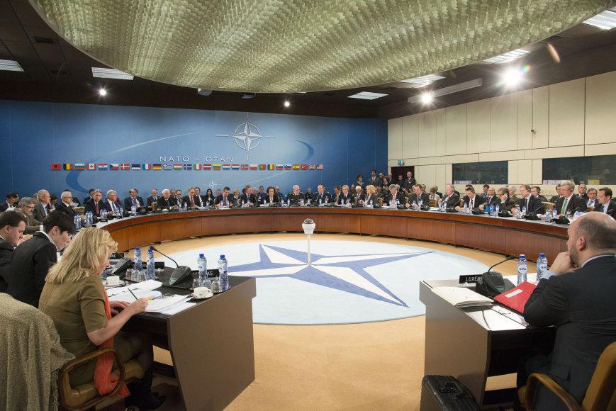 NATO narių ministrų susitikimas