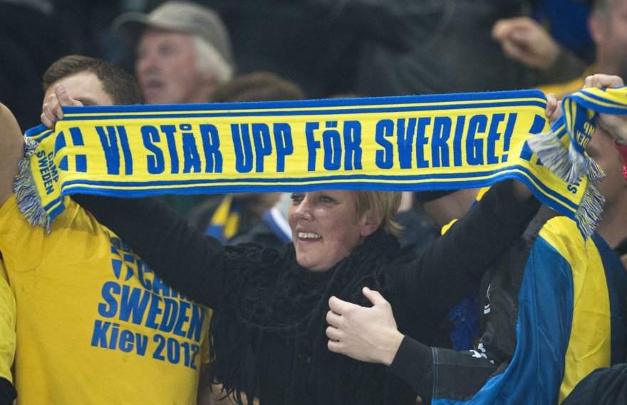 Švedijos futbolo sirgalė