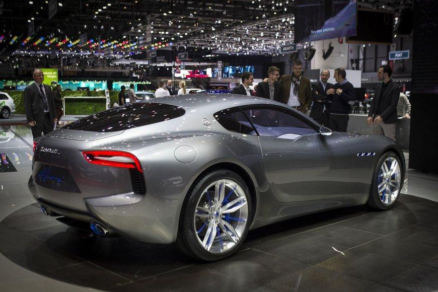 """Dailiausias konceptas Ženevoje - """"Maserati Alfieri"""""""