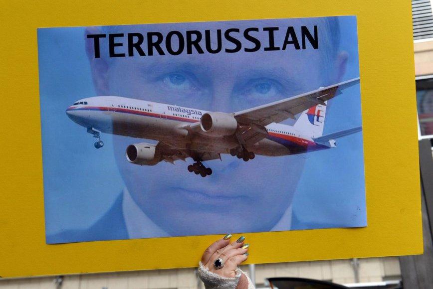 V.Putinas atvirai kaltinamas dėl Malaizijos lėktuvo katastrofos