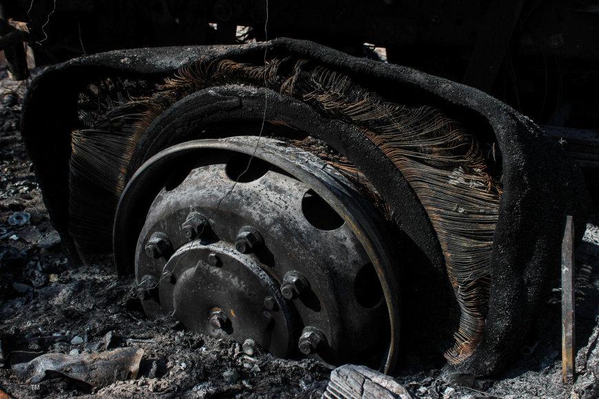 Kaip atrodo Kuršių nerija po gaisro