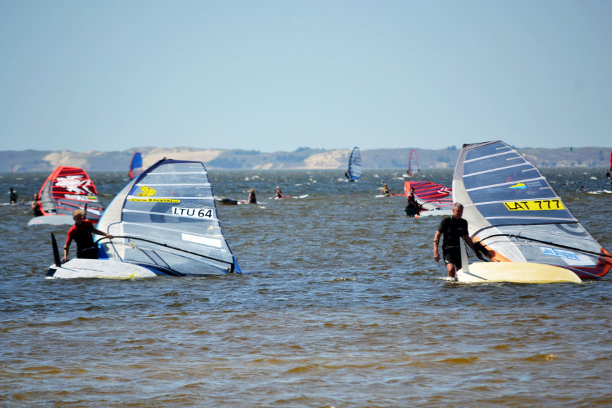 """DFDS Seaways Baltic Cup"" ir ""Formula Windsurfing European Cup"" varžybų Lietuvos etapas"