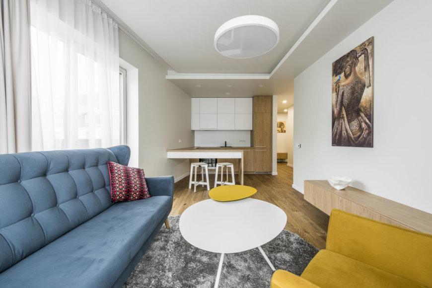 64 kv. m ploto butas Vilniuje