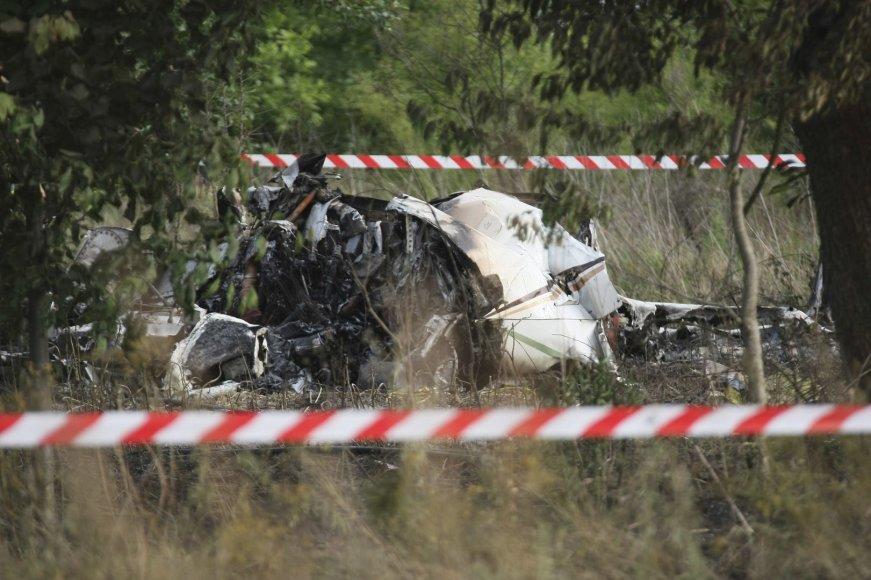 Lenkijoje sudužo lėktuvas.