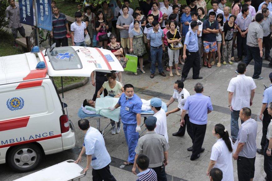 Rytų Kinijoje įvyko sprogimas.