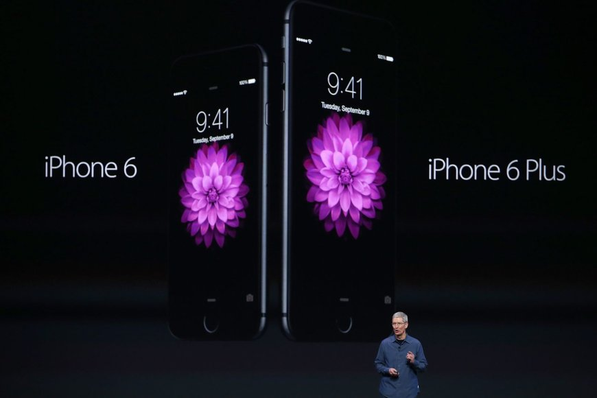 """Apple iPhone 6"" pristatymas"