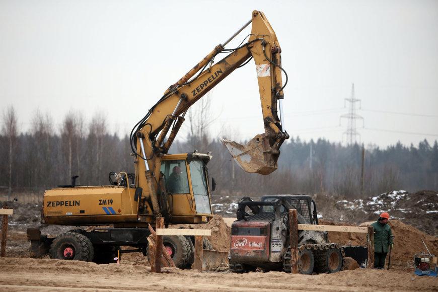 """""""DPD Lietuva"""" terminalo statybų pradžios renginys"""
