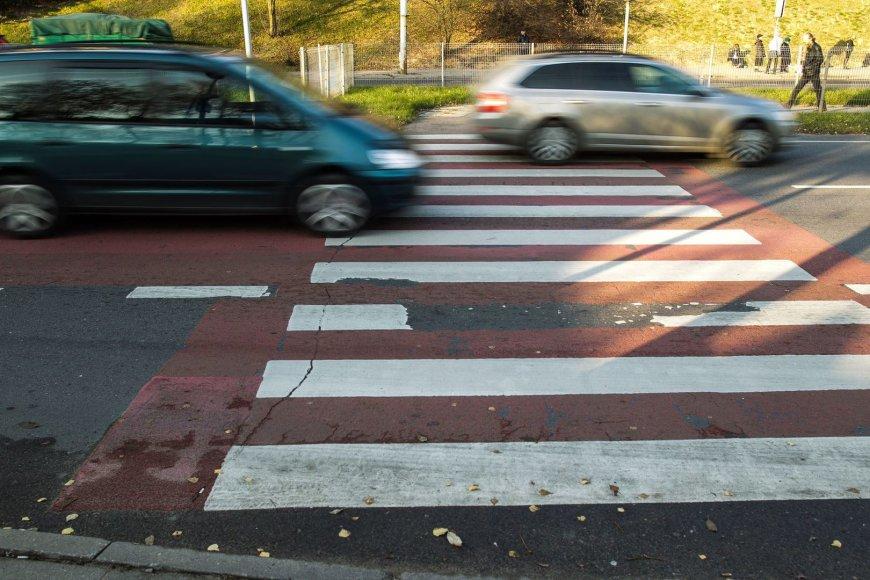 Pėsčiųjų perėja T.Narbuto gatvėje