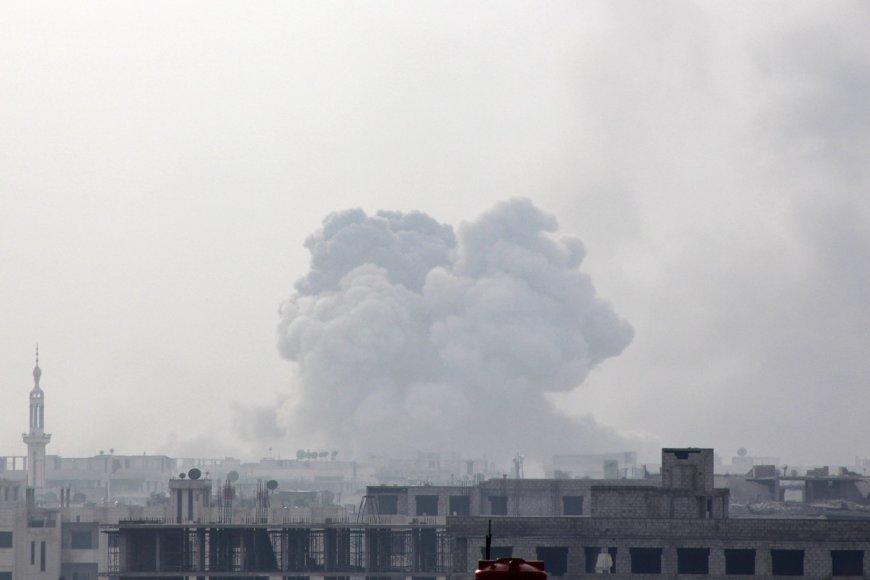 Raketų sprogimas Damaske