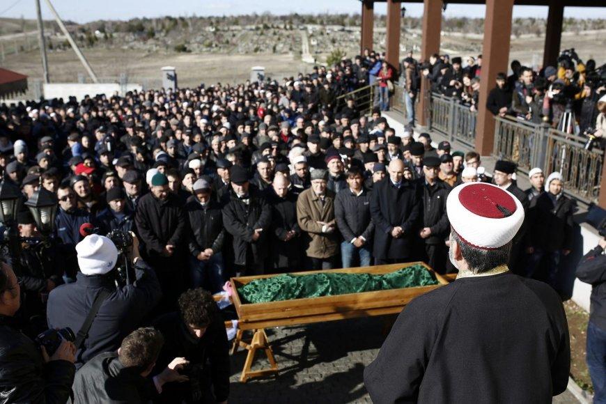 Krymo totoriaus laidotuvės