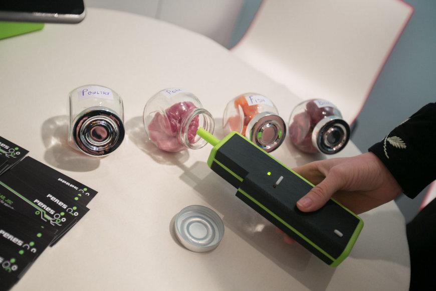 Elektroninė nosis tikrina produktų šviežumą