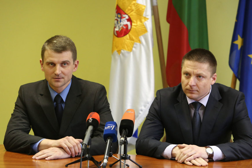 Artūras Norkevičius ir Donatas Matuiza