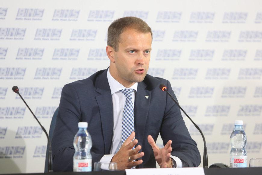 """""""Lietuvos energijos"""" valdybos pirmininkas ir generalinis direktorius Dalius Misiūnas"""