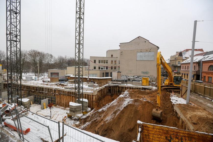 Statybos Vilniaus centre