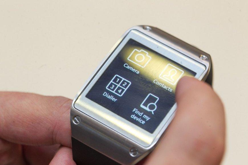 """Išmanusis laikrodis """"Samsung Galaxy Gear"""""""