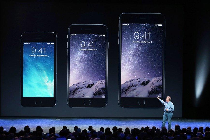 """""""iPhone 6"""" pristatymas"""