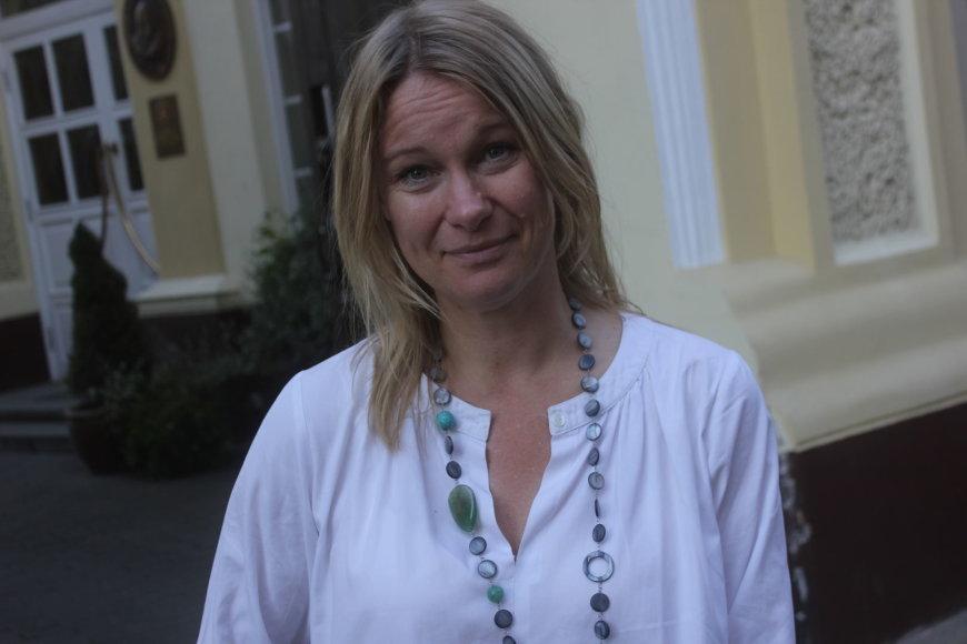 Jungtinių Tautų pabėgėlių agentūras atstovė Karolina Lindholm-Billing