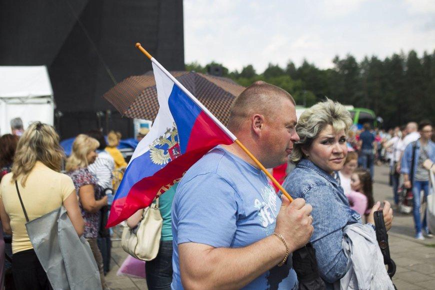 Vilniaus Vingio parke – Rusijos diena