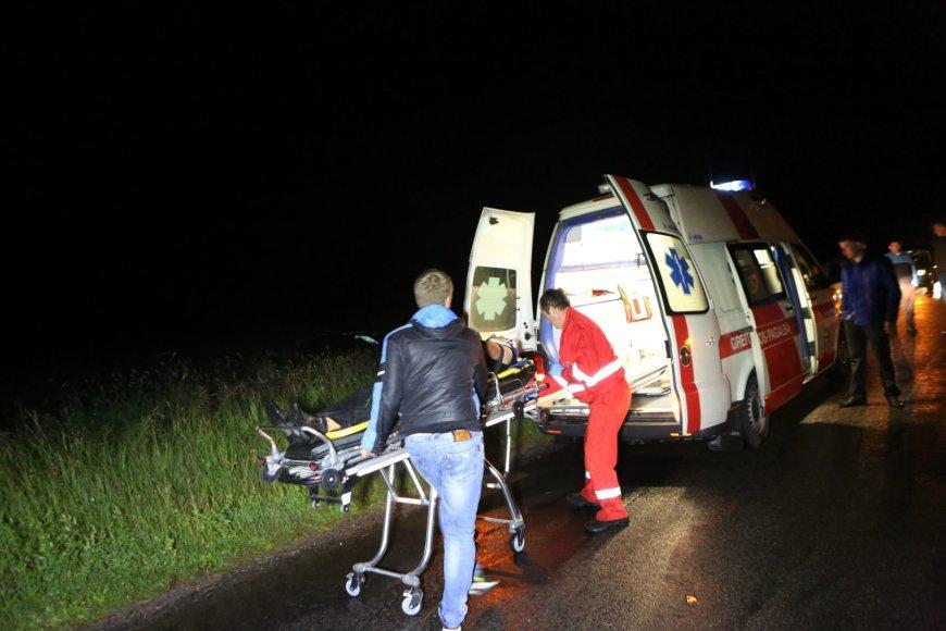 Jaunuolio sukelta avarija Šilutės rajone