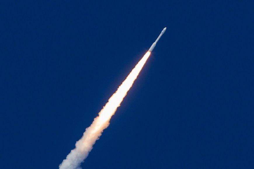 Europos kosmoso agentūros paleista kapsulė.