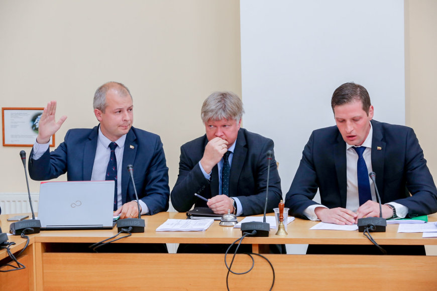 Seimo aplinkos apsaugos komiteto posėdis