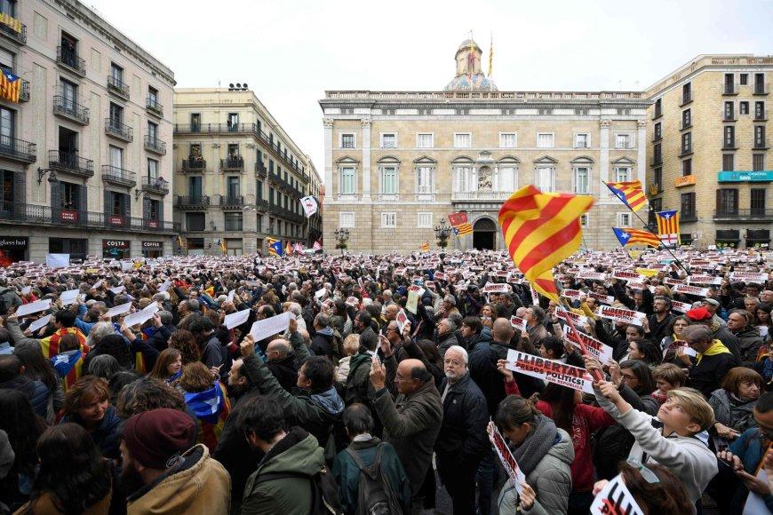 Protestas Katalonijoje