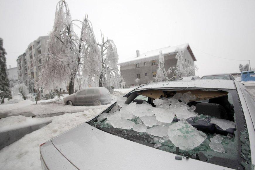 Užšalusi Slovėnija