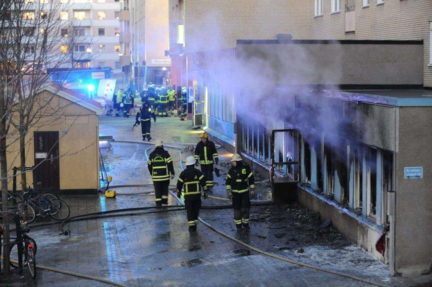 Mečetės padegimas Švedijoje