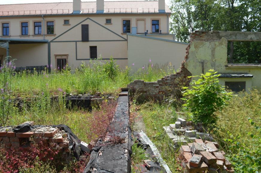 Palangoje norima atstatyti istorinę medinę kurhauzo dalį.