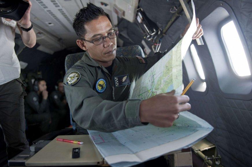 """Ieškomas mįslingai dingęs """"Malaysia Airlines"""" reiso MH370 keleivinis lėktuvas"""
