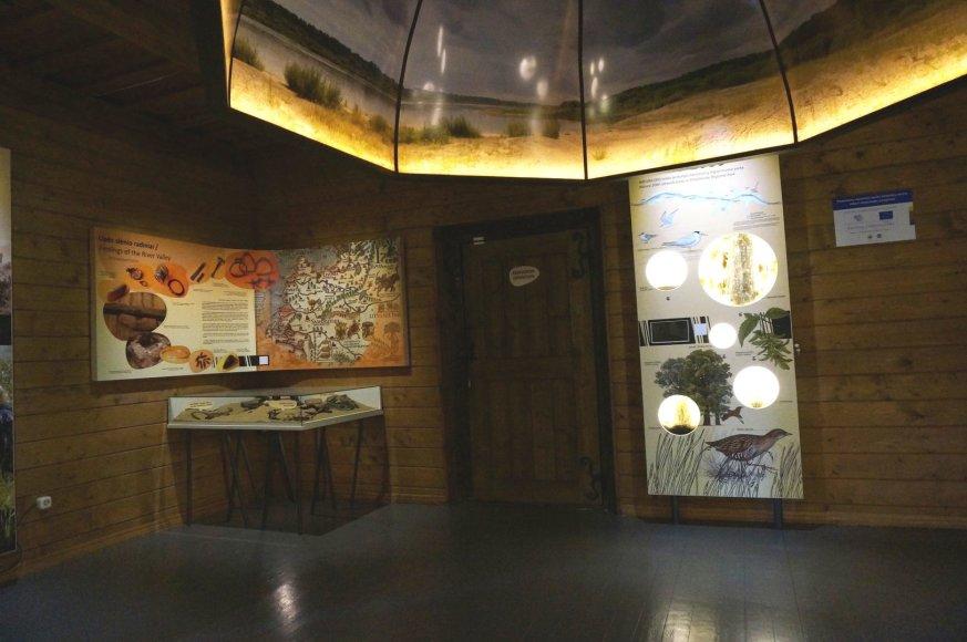 Lankytojų centro eksponatai