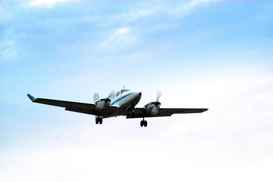 Vlado Kensgailos sukurtas lėktuvas VK-9