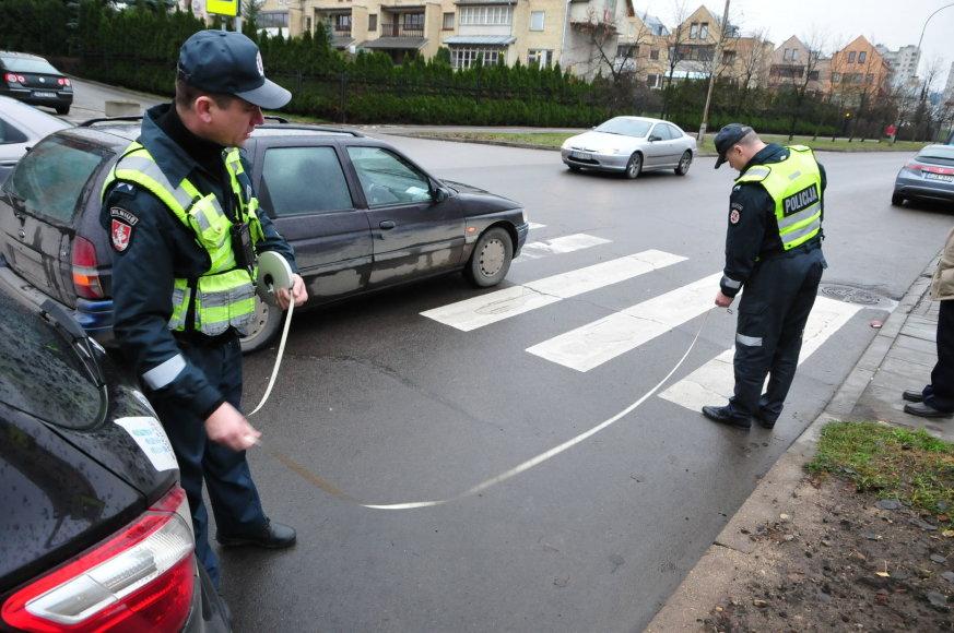 Fabijoniškių gatvės pėsčiųjų perėjoje buvo partrenktas mažametis.