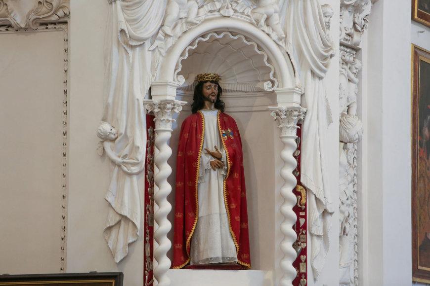 Jėzaus Kristaus skulptūra
