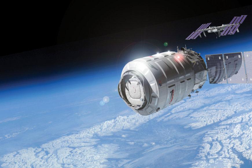 """Kompanijos """"Orbital"""" kosminio laivo """"Cygnus"""" skrydis"""