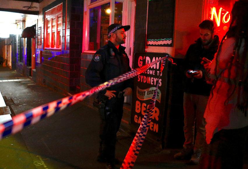 Sidnėjuje šeštadienio vakarą netrūko ginkluotų policininkų